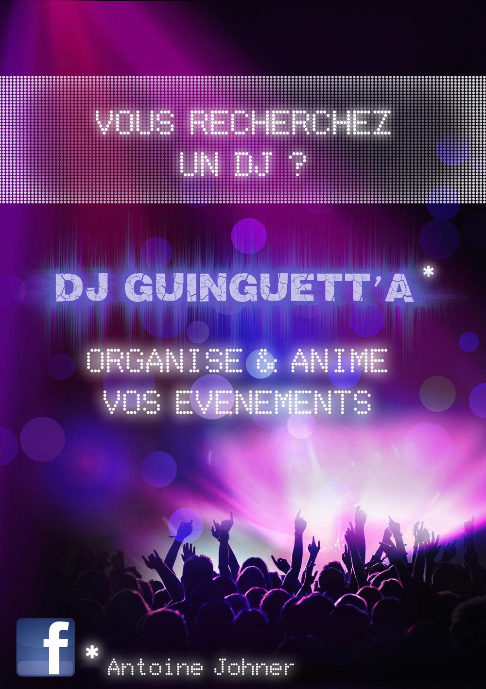 DJ pour vos événements, soirées, mariage, entreprises