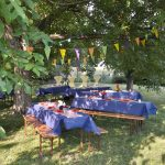 Salon de jardin vintage et stylé pour faire la fête !
