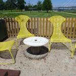 Transat GEANT, fauteuils de plage.