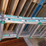 Echelle Distel rétractable 2 brins, hauteur 2 m ou 4 m. Prix location 10 € / pièce.