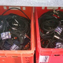 Câblage électrique, XLR et autres à louer !