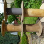 Tourets Petit Model (bobines) bois pour décoration