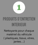 produits d'entretien intérieur