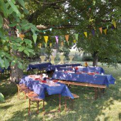 Votre jardin ? Pourquoi pas y faire la fête ?